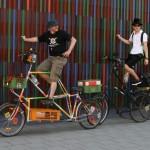 Tallbike-Parade
