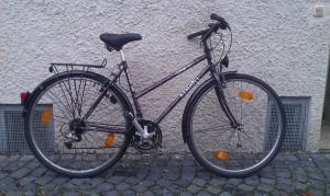 Stadtrad mit niedrigem Einstieg 28 Zoll