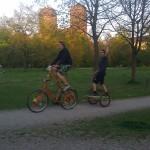Tallbikesurfen :-)
